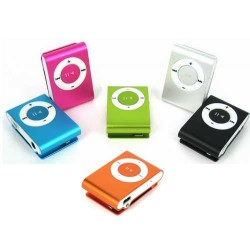 Clip Style Metal Ipod MP3 Player +Usb data cable  with Gift Box
