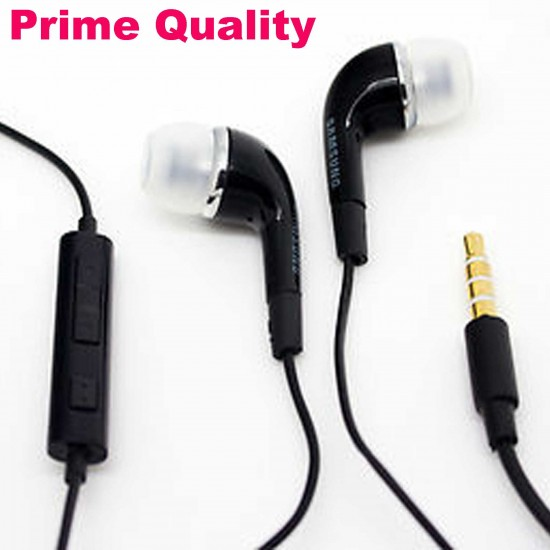 Samsung OEM Earphone 3.5 mm Jack For Samsung With Volume Control Black