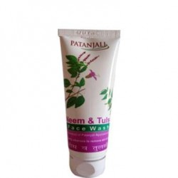 Patanjali Neem Tulsi Face Wash -60 ml