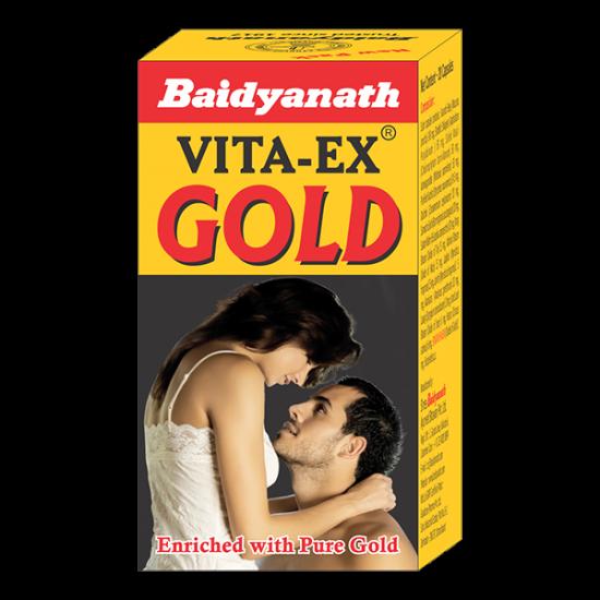 Baidyanath Vita Ex Gold - 20s Capsules