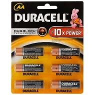 Duracell AA Battery Alkaline MN1500-LR06 1.5V (6PCS)