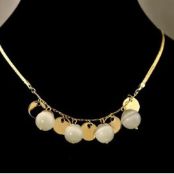 New Fashionable Bohemia Opal Decorative Short Necklace For Women