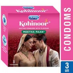 Durex Kohinoor Meetha Pan (3 pcs Pack)