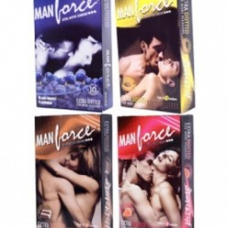 Manforce Flavoured Extra Dotted Condom (3 pcs Pack)