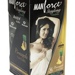 Manforce pineapple Flavor Condoms 20 pcs Pack