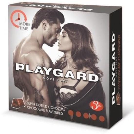 Playgard Condoms - Chocolate (3 Pieces)
