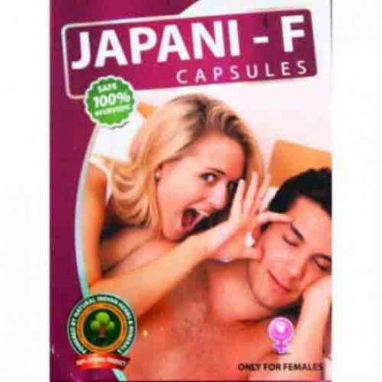 Japani M & Japani F for Male & Female Ayurveda Capsules