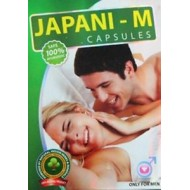Japani M Ayurveda Capsules for Male