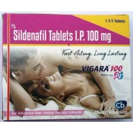 VIGARA 100 Mg Tablet for long Sex (1 x 5 Tablet)