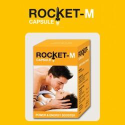 Rocket M Ayurveda Capsules for Male Stamina