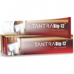 Tantra Big 12 Male Penis Enlargement Cream (Private Shipping)