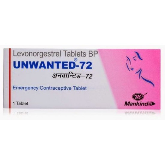 Unwanted 72 Tablet 5 Pcs Rs-75