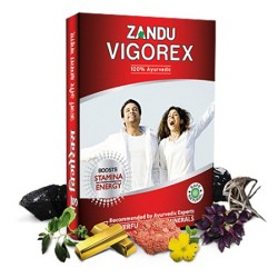 Zandu Vigorex Stamina and Energy Booster Capsules (1X10 Capsules) Conceal Shipping