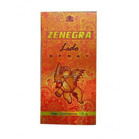 Zenegra Lido Delay Spray For Men Stay Long