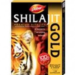 Dabur Shilajit Gold Capsules–Increase sexual stamina (10pcs)