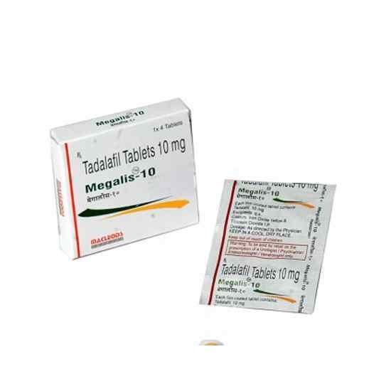 Megalis 10 Tablet (4pcs)
