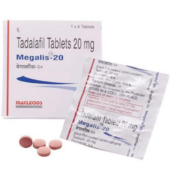 Megalis 20 Tablet - 4pcs
