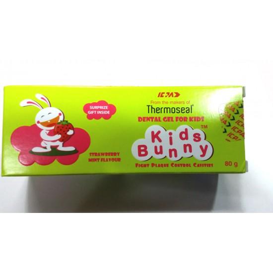 Kids Bunny Dental Gel For Kids 80 gm
