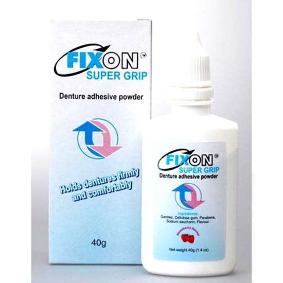 FIXON SUPERGRIP - Denture Adhesive powder