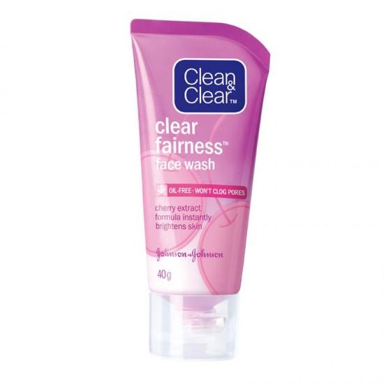 Clean & Clear Fairness Face Wash- 80g