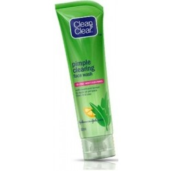 Clean & Clear Pimple Clearing with Neem and Lemon Face Wash - 80g