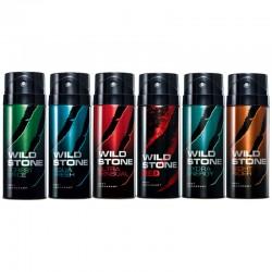 Wild Stone Forest Spice, Aqua Fresh Pack of 2 Deodorants For Men