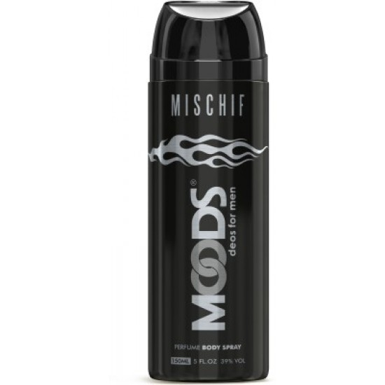 Moods Mischif Deodorant Body Spray For Men (150 ml)