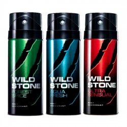 Wild Stone Deodorent Forest Spice, Ultra Sensual Combo Offer For Men