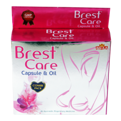 Balaji Breast Care Capsules and Oil (Combi Pack)