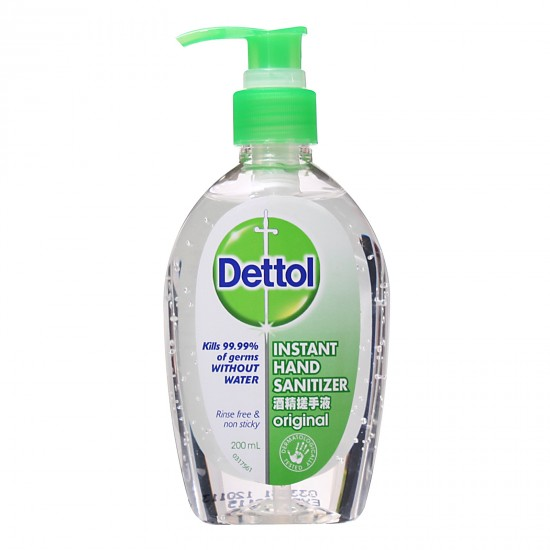 Dettol Instant Hand Sanitizer Antiseptic Hand Wash - 200 ml