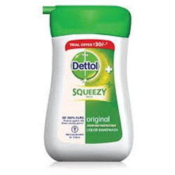 Dettol Skincare Ph-Balanced Hand Wash Squeezy Pack- 110ml