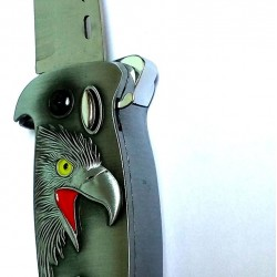 Windproof Flame Tiger Cigarette Lighter with Foldable Knife for personal Safety