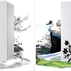 Creative Refrigerator Black Sticker Butterfly Pattern Wall Stickers