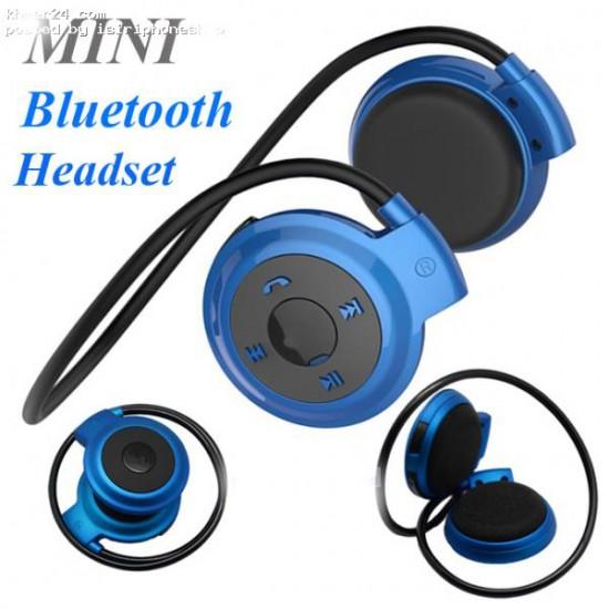 Bluetooth Wireless Mini 503 Stereo Flexible  Foldable sports Headset