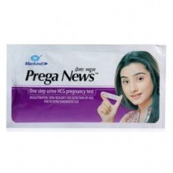 PREGA NEWS 10 PREGNANCY TEST STRIPS - CONCEAL SHIPPING