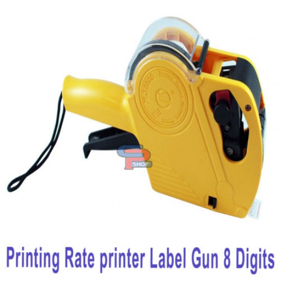 8 Digits MX-5500  Price Labeler Tag Gun One Touch Open System