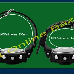 SKMEI Casual Dual Mode Analog Digital LED Wrist Watch