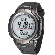 SYNOKE Brand LED Electronic Digital Military Men Sport Wristwatch