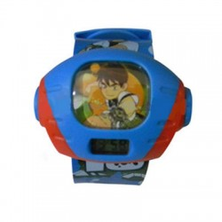 Ben 10 Digital Wrist Watch For Kids With Projector