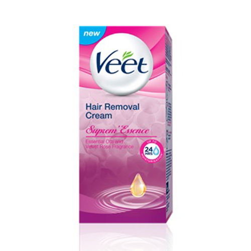 instructions for veet hair removal cream